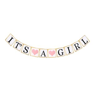 Its a girl baby shower letterslinger wit goud