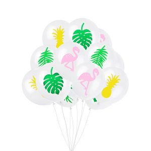 ballonnenset tropical flamingo